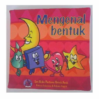 Buku Kainku Buku Bantal Kain Softbook Bayi Baby Mengenal Bentuk -Washable