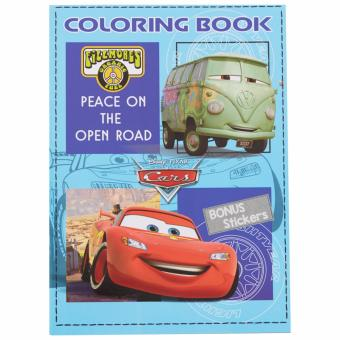 Cars Coloring Book Large (Peace On The Open Road)
