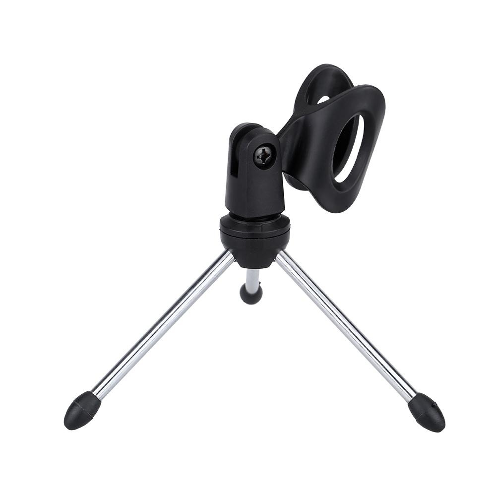 ... Detachable Foldable Portable Angle Adjustable Tripod Table Desktop Mic Microphone Stand Holder Bracket - intl ...