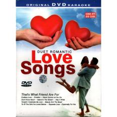 DVD KARAOKE - DUET ROMANTIC LOVE SONGS
