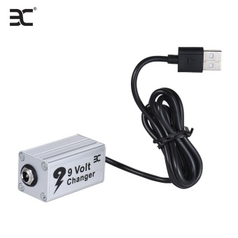 ENO EVC-1 Guitar Effect Power Supply Voltage Converter USB Booster 5V to 9V for 9V Guitar Effects - intl