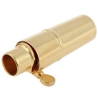 Gold Plated Metal Soprano Saxophone Mouthpiece 5 for ClassicalMusic
