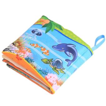 Hang-Qiao Colorful Baby Early Education Cloth Book Ocean ParkLearning Picture - 5