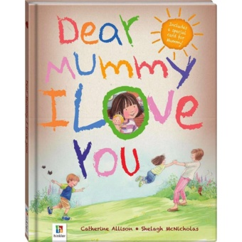 Hellopandabooks - Dear Mommy I Love You includes a special card forMommy!