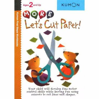 Hellopandabooks - Kumon First Steps Workbooks MORE LET'S CUT PAPER!(Ages 2 and Up)
