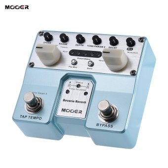 Harga MOOER Reverie Reverb Guitar Effect Pedal 5 Reverberation Modes 5 Enhancing Effects with Two Footswitch - intl