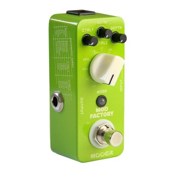 Harga Mooer Mod Factory Modulation Electric Guitar Effects Pedal True Bypass