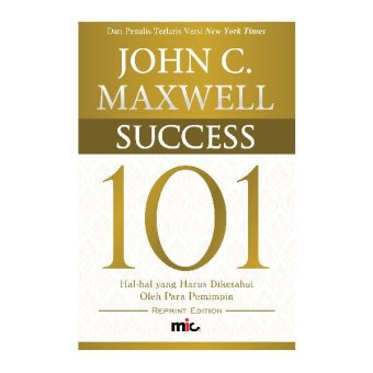 Harga MIC Publishing Buku Success 101 - John C. Maxwell