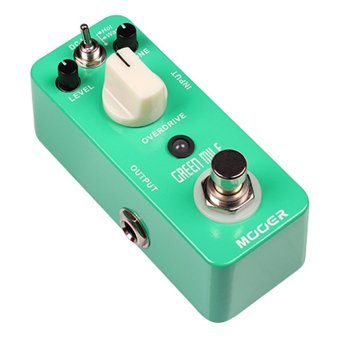 Harga Mooer Green Mile Overdrive Micro Guitar Effects Pedal True Bypass