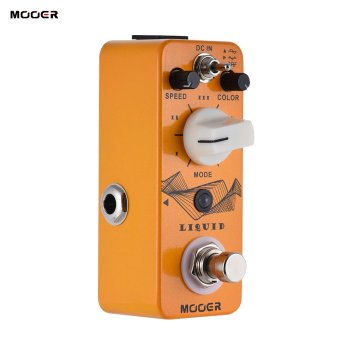 Harga MOOER LIQUID Mini Digital Phaser Guitar Effect Pedal True Bypass Full Metal Shell - intl