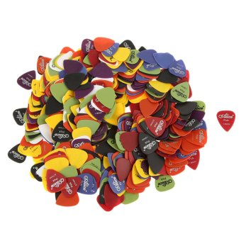 Harga BolehDeals Alice Nylon Standard Mixed Colors Guitar Picks Plectrums 600Pcs