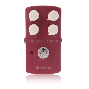 Harga JF-39 Deluxe Crunch Electric Guitar Effect Pedal Distortion Pedal True Bypass Design