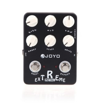 Harga JF-17 Guitar Effect Pedal Extreme Metal Distortion