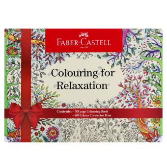 Harga Faber Castell Colouring For Relaxation Gift Box
