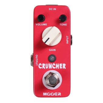 Harga Mooer MDS3 Cruncher Distortion Electric Guitar Effect Pedal True Bypass