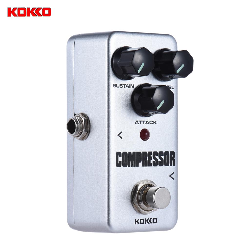 ... KOKKO FCP2 portabel Mini kompresor Pedal efek Pedal gitar - Internasional ...