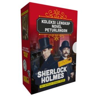 Koleksi Novel Sherlock Holmes Edisi Paket ( 5 Jilid )
