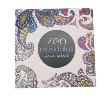 LALANG Secret Garden Zen Mandalas Painting Coloring Book EnglishEdition 24 Pages