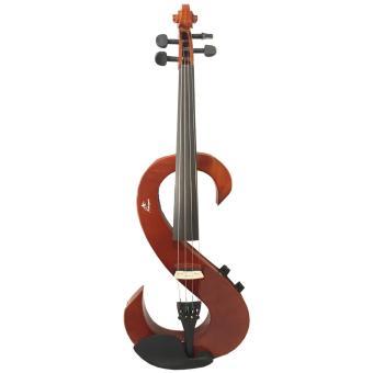 Detail Gambar Mahogani - Biola / Violin Elektric 4/4 E-357 Model S