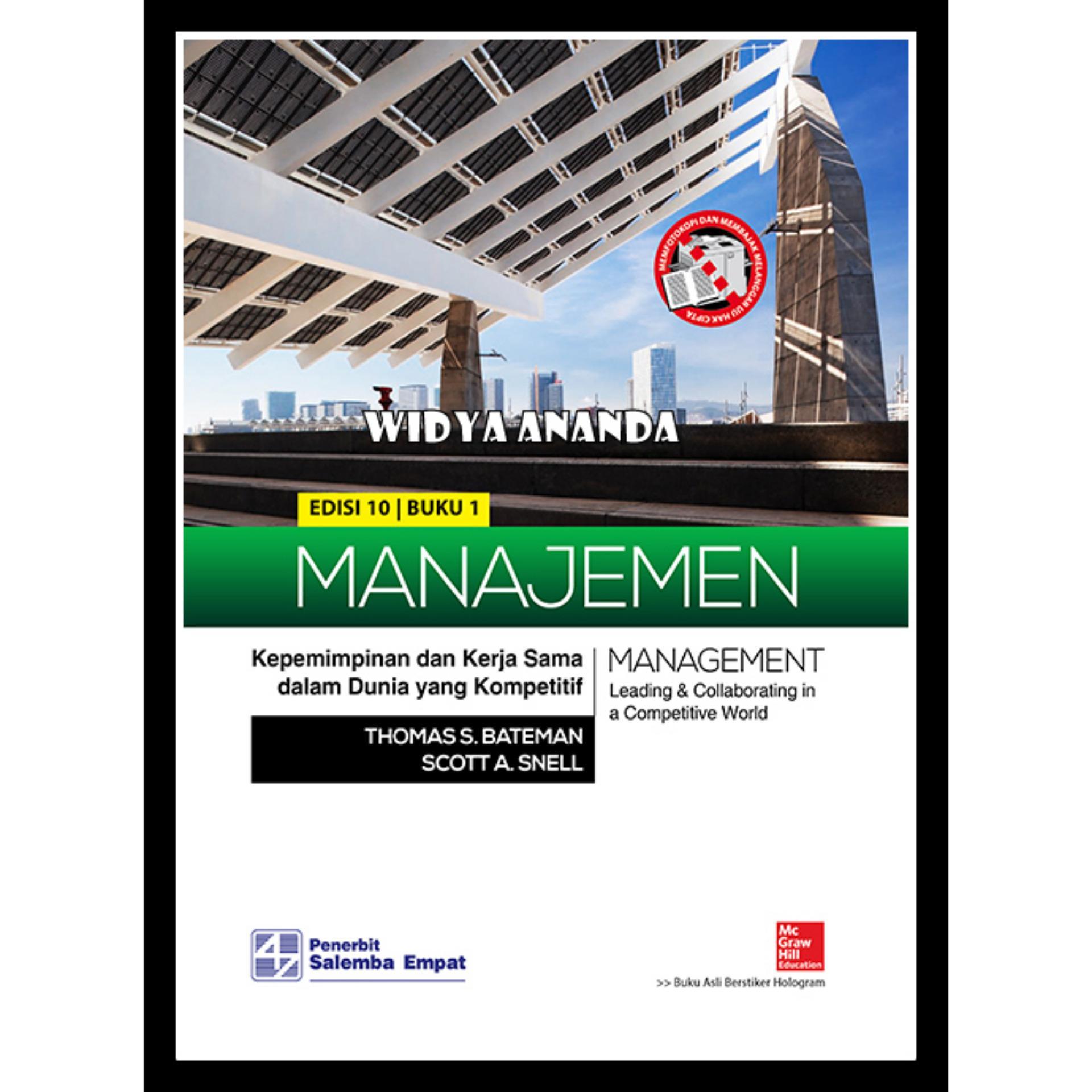 ... Manajemen Kepemimpinan dan Kerja Sama dalam Dunia yang Kompetitif 1Ed 10
