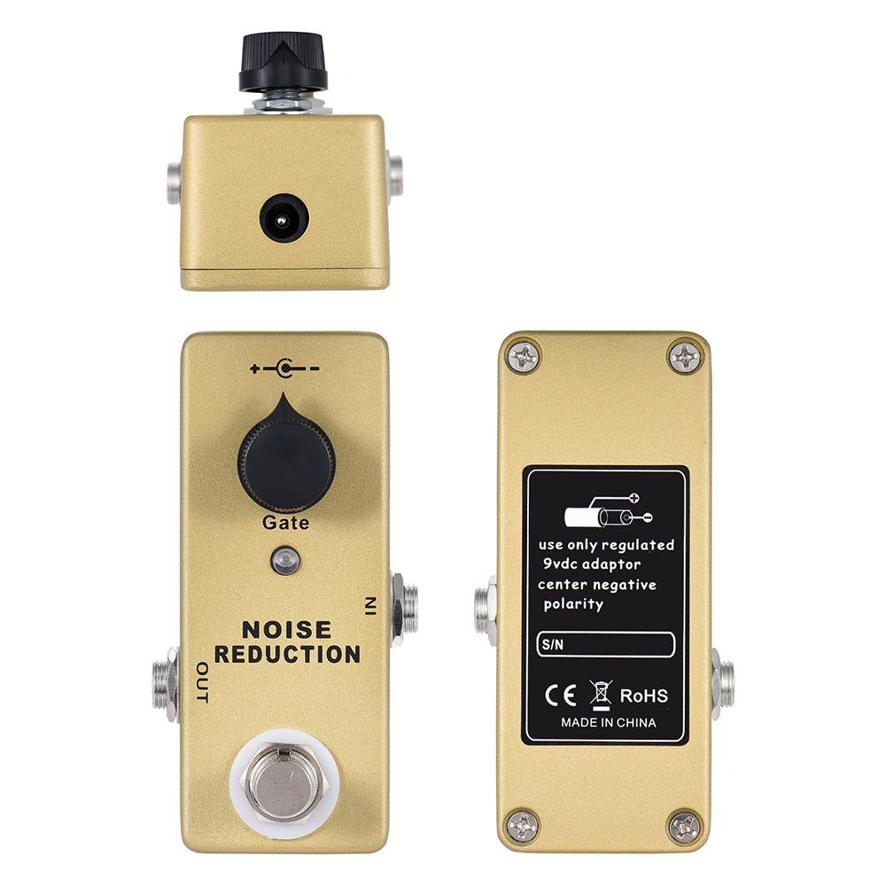 MOSKY MP-40 Noise Gate Noise Reduction Suppressor Mini Single Guitar Effect Pedal True Bypass ...