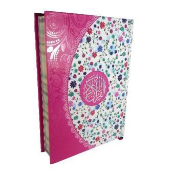 Nabawi Al Quran Yasmina Hard Cover - Pink