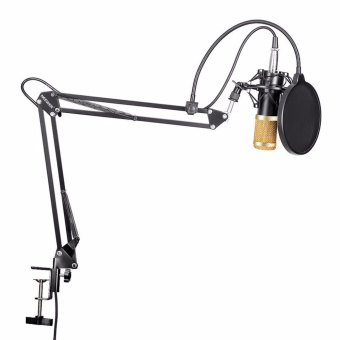 Harga Neewer Professional Studio Broadcasting Recording CondenserMicrophone Mic Kit & NW- 35 Adjustable Recording MicrophoneSuspension Scissor Arm Stand with Shock Mount Adjustable SuspensionScissor Arm Stand Mounting Clamp Pop Filter Outdoorfree - intl
