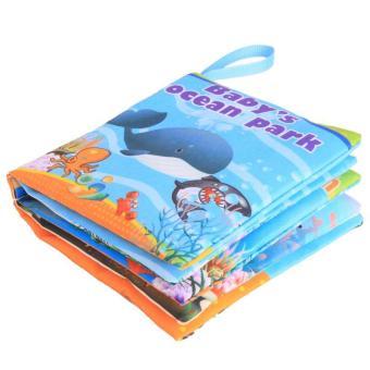 Detail Gambar Pendidikan Awal Bayi Belajar Buku Kain Ocean Park Gambar Kognisi LALANG dan Variasi Modelnya