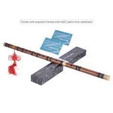 Pluggable Pahit Seruling Bambu Dizi Tradisional Handmade Musik Cina Woodwind Instrument Key dari D Studi Tingkat Kinerja Profesional Outdoorfree- INTL