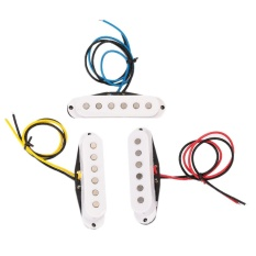Set of Electric Guitar Alnico Single Coil Pickup Neck+Middle+Bridge Part - intl