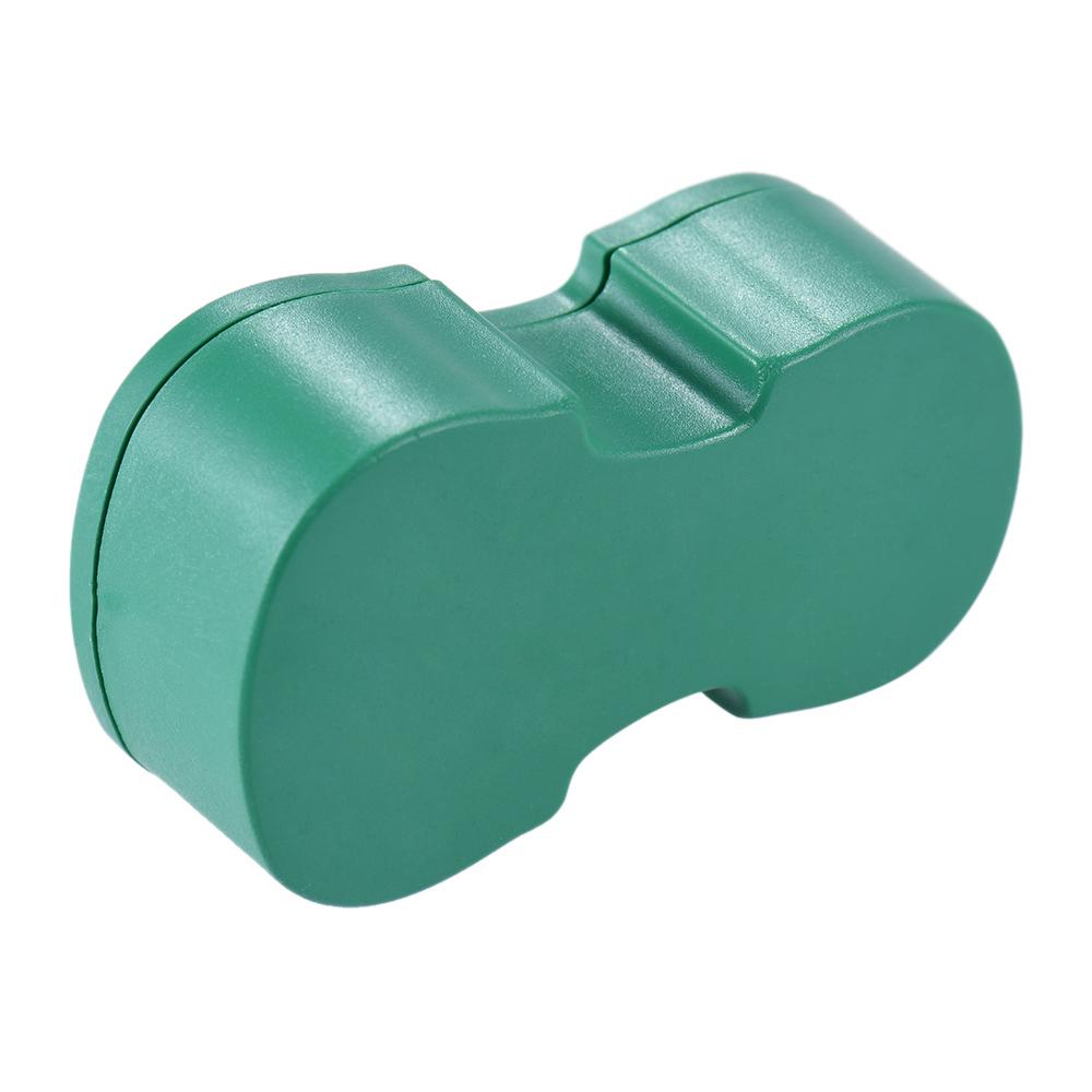 Terbaik transparan kuning damar Colophony rendah debu buatan tangan dengan biola berbentuk kotak plastik Universal untuk
