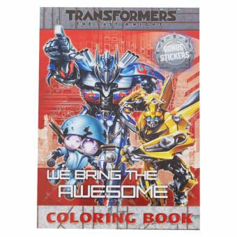 Transformers Coloring Book L (We Bring The Awesome)