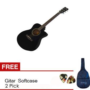 Perbandingan harga Yamaha Gitar FS 100 C Black + Free Soft Case + 2 Pick Harga