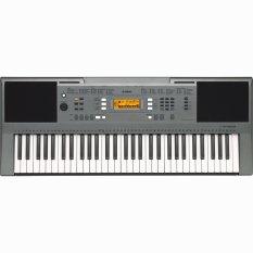 Yamaha Keyboard PSR-E353 - Abu-abu