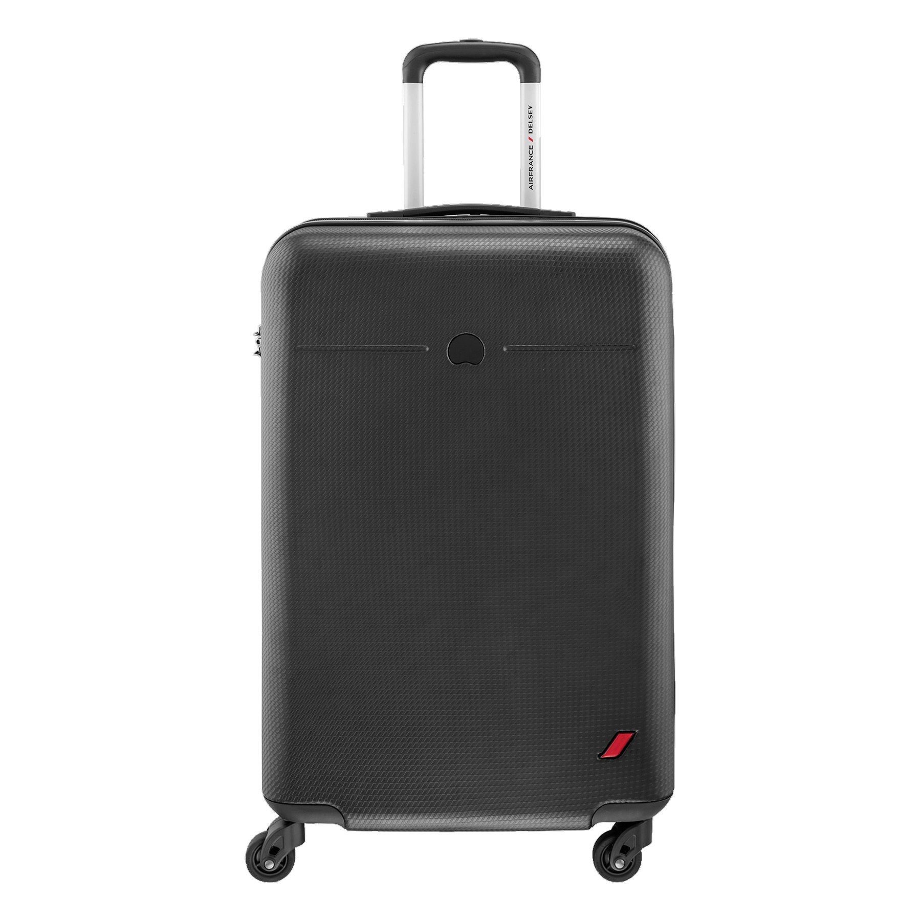 Delsey Envol Koper Hard Case 55 cm - Hitam