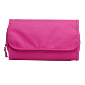 Harga Lynx Tas Kosmetik - Toiletries Storage - Portable Hanging Organizer Bag - Pink