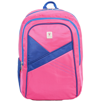 Harga Voyager Tas Ransel Laptop Kasual 7822 Backpack Up to 15 inch Bonus Bag Cover - Pink
