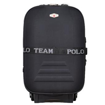 Polo Team 967 Koper Kabin Size 20 inch Gratis Pengiriman JABODETABEK - Hitam