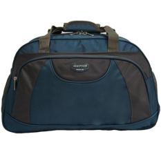 Real polo travel bag - duffle bag - Tas pakaian multi fungsi (Tas jinjing Dan Tas Selempang) 6300 - Biru Muda