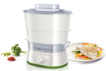 philips daily collection hd9104/00 steamer – putih