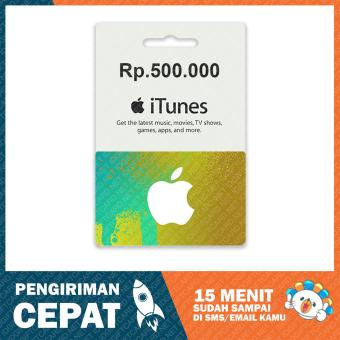 Apple iTunes Gift Card Region Indonesia - 500.000