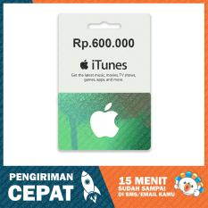 Apple iTunes Gift Card Region Indonesia Rp. 600.000