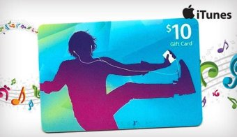Apple Itunes Gift Card US - 10$ - Digital Code