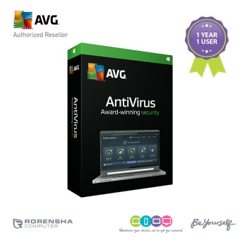 Harga AVG Antivirus 1 User / 1 Year