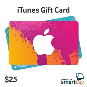 Harga Smartpay Apple Itunes Gift Card Region US $25