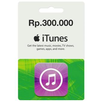Harga Apple iTunes Gift Card Region Indonesia - 300.000