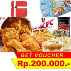 KFC Voucher Rp 200.000,-