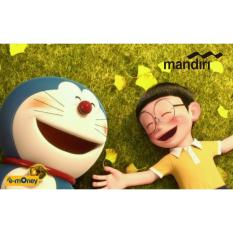 Mandiri E-Money Card Doraemon Special Edition - Hijau