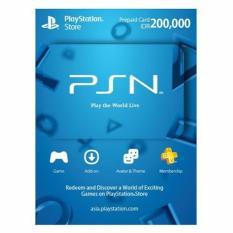 PlayStation Network (PSN) Card IDR 200.000 - Digital Code