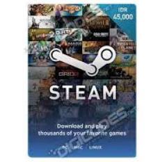 Steam Wallet IDR 45.000 - Digital Code